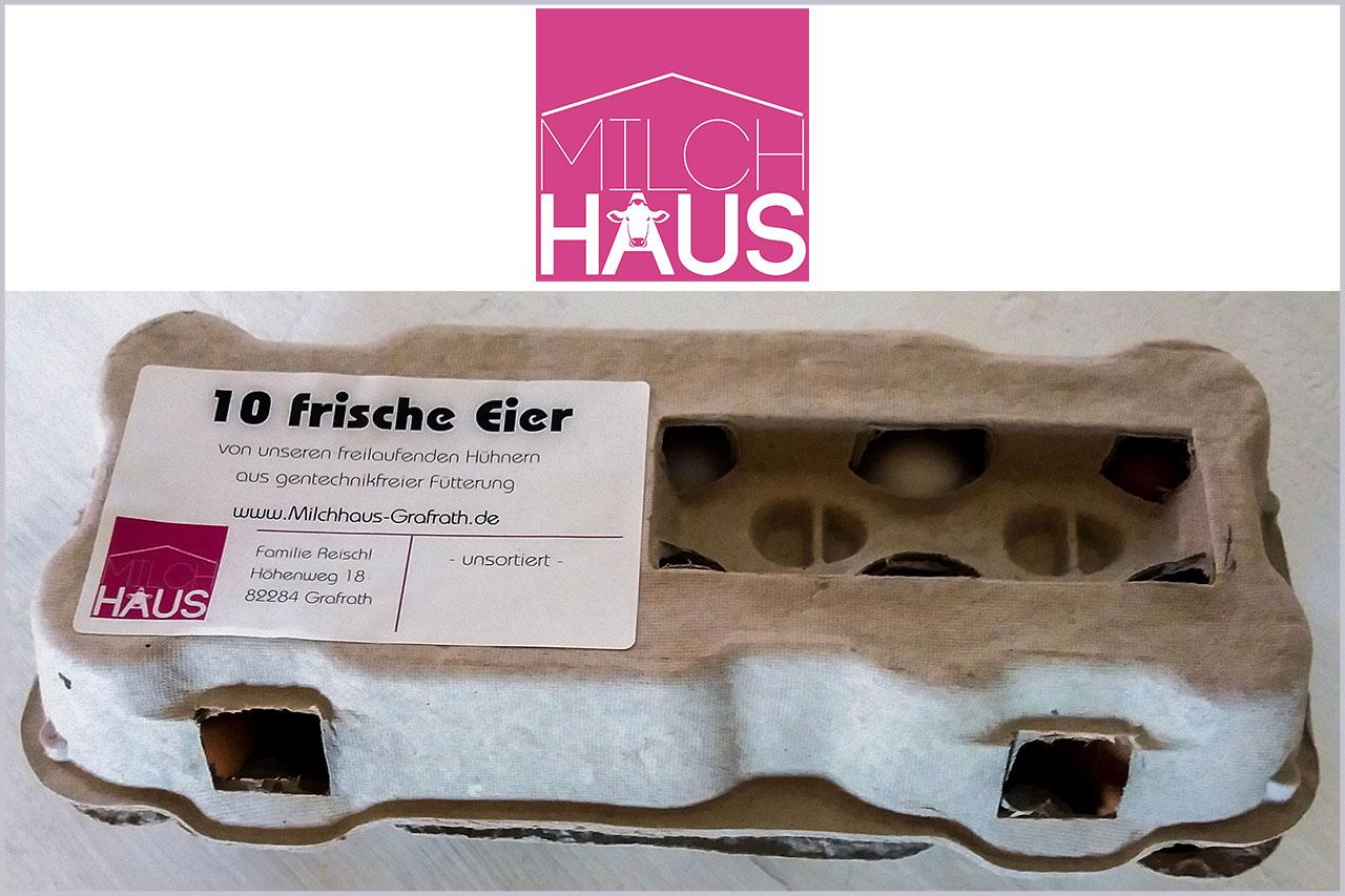 Frische Eier vom Reischlhof - Eier aus Fürstenfeldbruck