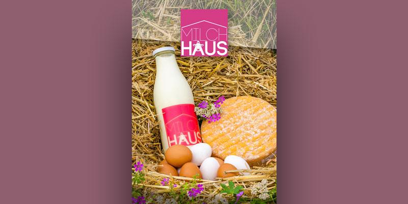 Das Produktsortiment vom Reischlhof - Eier, Milch und Käse
